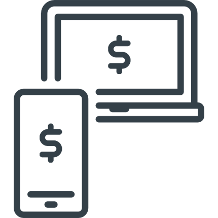 Online & Mobile Banking Icon