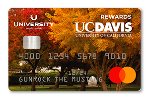 UC Davis Rewards Credit Card