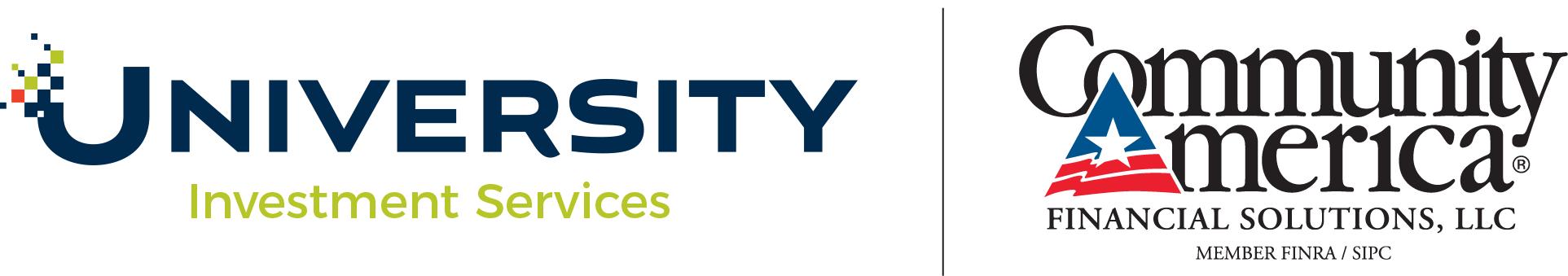 University Credit Union and Community America Financial Solutions, LLC Logo