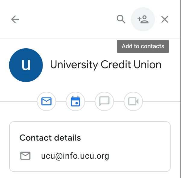 Gmail add to contacts